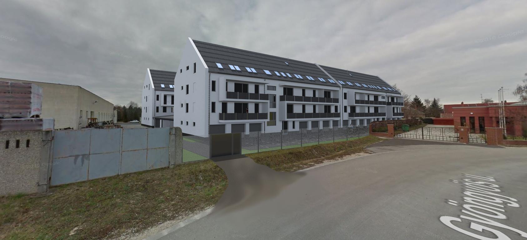 Gyöngyös utcai társasház látványterv - Böröck Ingatlanforgalmazó Kft. 14